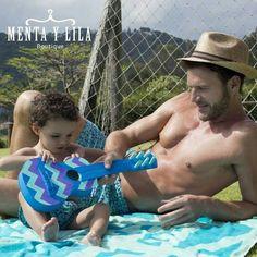 Padre e hijos ahora pueden lucir trajes de baño del mismo diseño. ¡Genial! http://www.mentaylila.com/blog/10-hombres/313-98-coast-av-nueva-marca-en-menta-y-lila