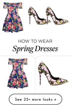 """""""spring"""" by amani-vi on Polyvore featuring New Look and Schutz"""