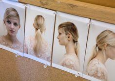 Stella McCartney backstage 2014 - hair inspiration