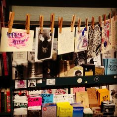 zines at Needles and Pens, SF