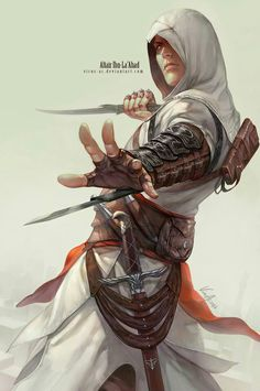 Even though every other character has been totally awesome, I still love Altair.