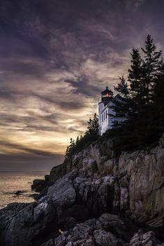 Bass Harbor Head Light.