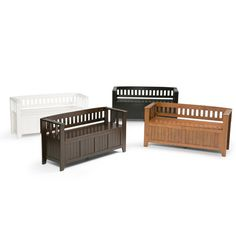 You'll love the Acadian Two Seat Bench with Storage at Wayfair - Great Deals on all Furniture  products with Free Shipping on most stuff, even the big stuff.