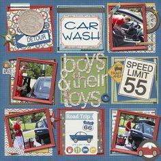 boys and their toys - Scrapbook.com