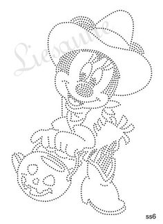 Minnie mouse Rhinestone Art, Rhinestone Transfers, Pvc Pipe Projects, Sewing Projects, Needlepoint Stitches, Pin Art, Dot Painting, Art Pages, String Art