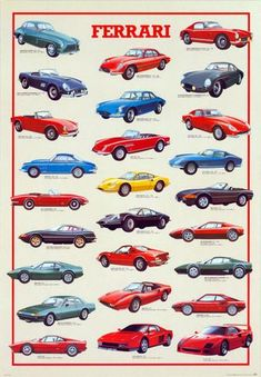 Ferrari, International Edition Poster
