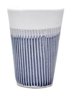 Sara Tjossem Ombre Shades of Grey Dip Dye Tumbler Cup