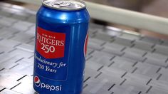 Pepsi Releases Special Rutgers 250 Cans -- :)