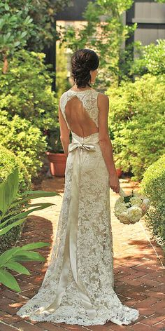 Bridal Inspiration: Country Style Wedding Dresses ❤ See more…