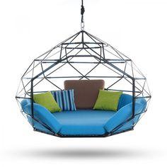 The Kodama Zome hanging sitting pod