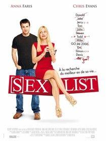 (S)ex list - Films de Lover, films d'amour et comédies romantiques.