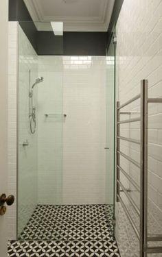NC224048 Looking good on a shower floor. Encaustic Tiles Brisbane