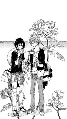 Umibe no Etranger - Mobile Wallpaper Fanart Manga, Manga Art, Anime Manga, Fanarts Anime, Anime Characters, Manhwa, Pose Reference Photo, Anime Crossover, Anime Demon