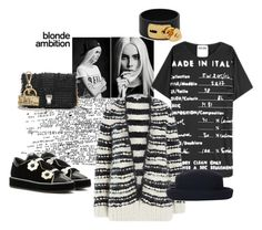 """Blonde Ambition"" by juliabachmann ❤ liked on Polyvore featuring мода, Nicholas Kirkwood, Proenza Schouler, Valentino, Moschino, IRO и Topshop"