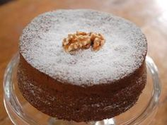 Walnut Cake from Laura Calder. This cake is delicicious!!!! I make it without the breadcrumbs for a completely flourless version and Increase the walnuts to 5 ounces! Divine!!!