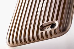 The Slit iPhone 6 Case in Gold Duralumin from Squair Japan. Hope there's gonna be a 6plus version soon.