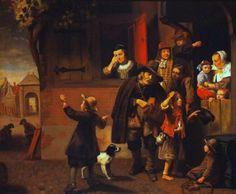 Nicolaes Maes - De liereman