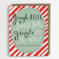 Funny Holiday Card Jingle Bells by emilymcdowelldraws on Etsy, $4.50 LOVE!!! SO funny!!!
