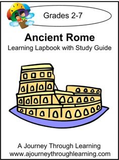 Free for now! Ancient Rome Lapbook with Study Guide