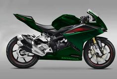 Honda CBR250RR Repaint Colour Green