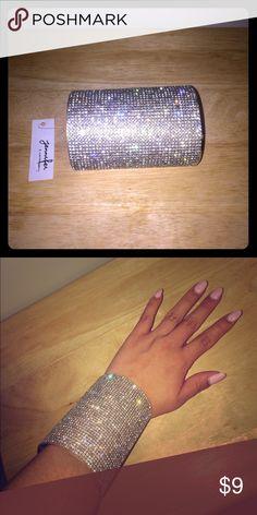 Rhinestone cuff. Brand new rhinestone cuff Jewelry Bracelets