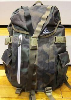 Nike ACG Steel City 35 backpack, Woodland Camo