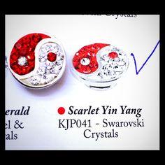 "KAMELEON ""SCARLET YIN-YANG"" Jewel Pop-SS925 Authentic KAMELEON Sterling Silver 925 Jewel Pop, ""Scarlet Yin-Yang"" (#KJP041). It's NWOT, in EXCELLENT CONDITION! Comes in KAMELEON green mesh bag! ! Kameleon Jewelry"