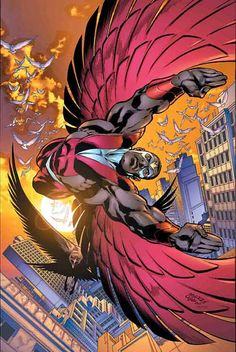 falcon marvel superhero | Marvel Comics Falcon