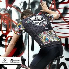 4bf35276b Tokidoki time. Not a bad jersey at all!  Repost  bikeinside cycling wear ・・