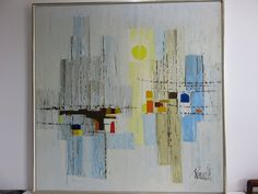 Lee Reynolds Mid-Century Modern Abstract by FLORIDAMODERN on Etsy