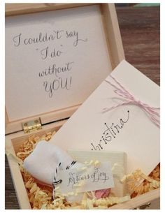 How to ask your Friends to be Bridesmaids. So adorable!