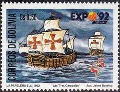 Expedition fleet of Christopher Columbus