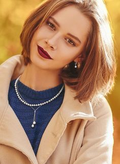 Sweater weather will soon be here; pearls are the perfect way to accentuate your fall style! #QualityGold #Pearls #PearlEarrings #TrendAlert #StringOfPearls #FallFashion #FallJewelryStyles #SweaterWeather