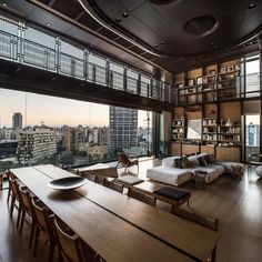 """21.6 mil curtidas, 79 comentários - Architecture & Design Magazine (@d.signers) no Instagram: """"Beautiful #Penthouse designed by Bernard Khoury #d_signers Follow @d.signers_in for more! ________…"""""""