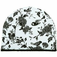 Tea Cosy - Songbird . $11.99. Fits over most teapots to keep the tea warm.. Tea cozy measures 13-1/2 by 11-Inch 100-Percent cotton exterior, polyester fill insulation Just pop it over your serving teapot to keep the tea warmer, longer Hook for easy storage Do not use on stovetop