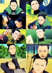 shika being shika Anime Naruto, Sasuke, Naruto Y Boruto, Anime Manga, Shikadai, Shikatema, Nara, Cowboy Bebop, Blue Exorcist
