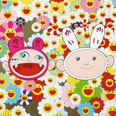 Takashi Murakami . #takashimurakami http://www.widewalls.ch/artist/takashi-murakami/