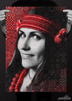 PosterFaces—«Іванко та й Іванко, сорочка вишиванка»