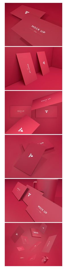 free-psd-6-business-cards-mockup