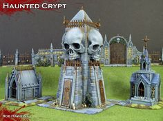 HOW TO.... MAKE THIS CRYPT Rob Hawkins Hobby: October 2014