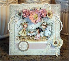 LOTV - Nativity Angels card