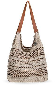 The Sak Huntley Crochet Hobo Crochet Hobo Bag, Crochet Handbags, Knit Crochet, My Bags, Purses And Bags, Next Clothes, Summer Bags, Crochet Designs, Mens Gift Sets