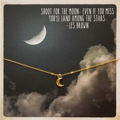 FashionJunkie4Life - Moon Bracelet - Shoot for the Moon Inspirational Card Jewelry, $24.99