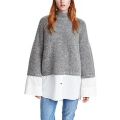 Mall stores have so many great finds for fall.  H&M Mohair Knit Sweater-$70