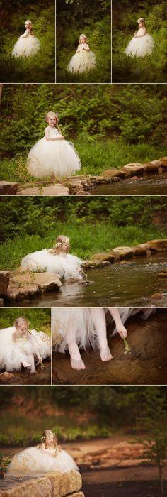 She is like a little fairy princess.