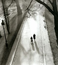 Henri Guérard  Les Buttes Chaumont, 1950  Thanks to regardintemporel