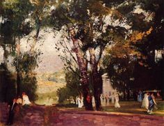 George Bellows, In Virginia