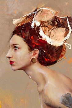 Lita Cabellut, 1961 | Mixed media Fresco style painter | Tutt'Art@ | Pittura * Scultura * Poesia * Musica |