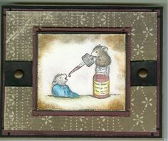 Get Well Wisdom! by stampintam_inks - Cards and Paper Crafts at Splitcoaststampers y