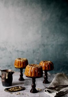 Orange and Toasted Fennel Morning Cakes